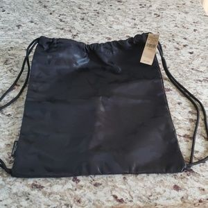 American Eagle Outfitters drawstring bag.